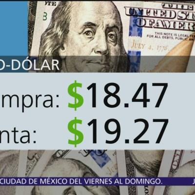 El dólar se vende en $19.27
