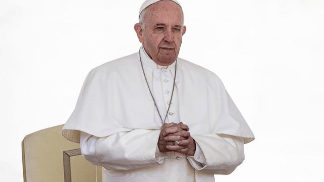 Foto: El papa Francisco en el Vaticano, 8 de mayo de 2019