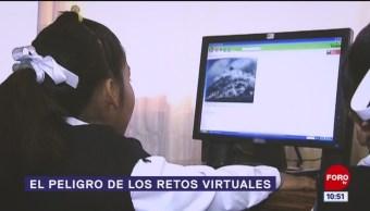El peligro de los retos virtuales