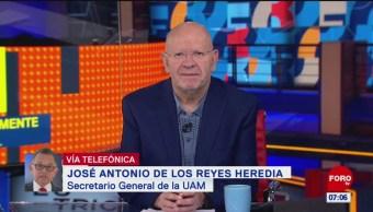 El trimestre no se perderá en la UAM tras la huelga, dice Reyes Heredia