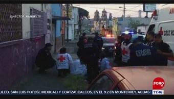 Encuentran a hombre desnudo y golpeado en Puebla