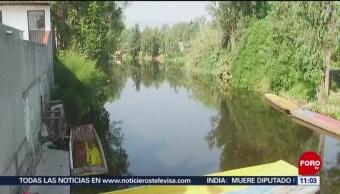 Encuentran cuerpo sin vida en canal de Xochimilco, en CDMX