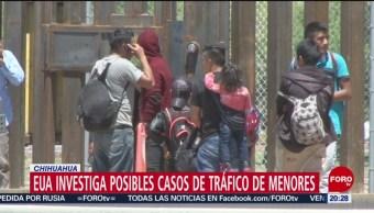 Foto: Estados Unidos Tráfico Menores Cruzar Frontera 20 Mayo 2019