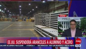 Foto: Estados Unidos Aranceles Aluminio Acero 17 Mayo 2019