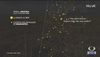 FOTO: Estremecedores audios de migrantes perdidos en el desierto