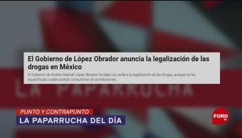 Foto: Legalización Drogas AMLO 8 de Mayo 2019