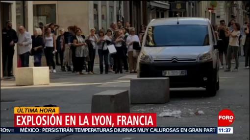 Explosión de bomba en local deja varios heridos en Lyon, Francia