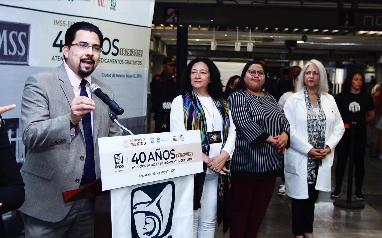 Foto: Exposición fotográfica 'IMSS Bienestar' en el Metro, 13 de mayo 2019. IMSS