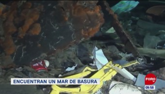 Extra, Extra: Descubren mar de basura en Italia