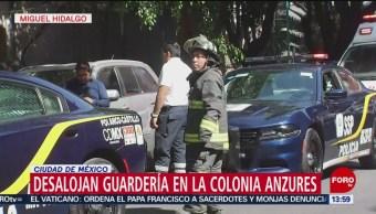 FOTO: Falsa alarma provoca desalojo de guardería en colonia Anzures, CDMX