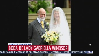 FOTO: Familia real asiste a la boda de lady Gabriella Windsor, 18 MAYO 2019