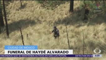 Familiares velan cuerpo de Haydé Alvarado Castillo