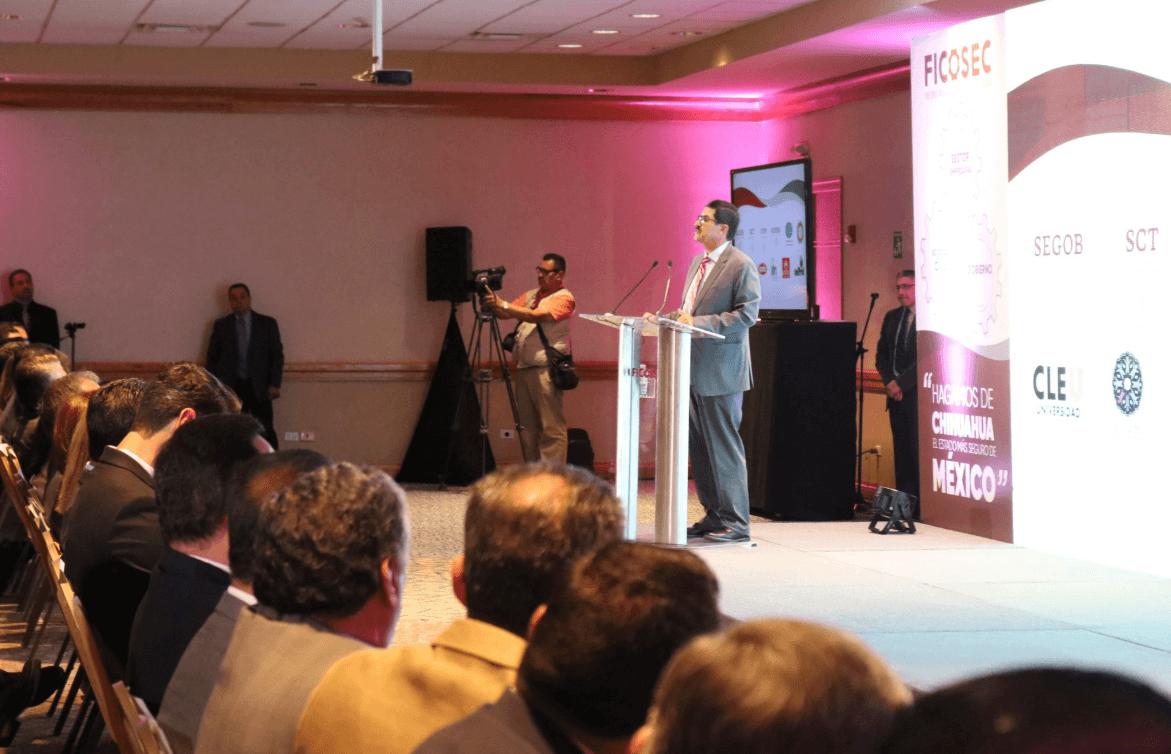 Foto: FICOSEC presenta informe sobre seguridad en Chihuahua, 3 de mayo de 2019, México