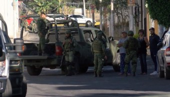 Foto: hallan fosa clandestina en finca de Tlajomulco, 8 de mayo 2019. Twitter @NotiGDL