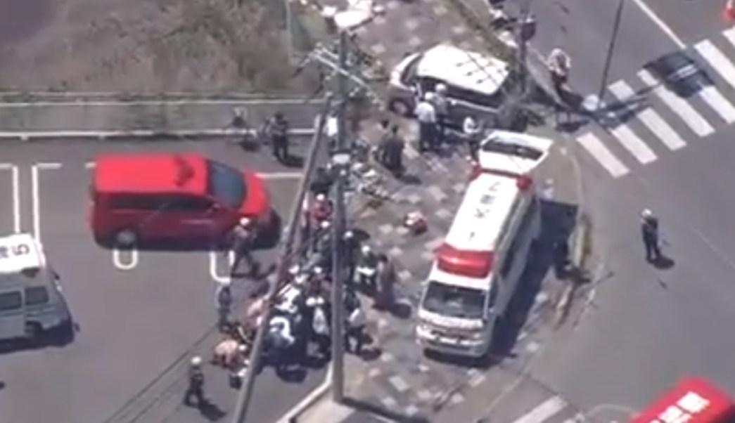 Foto: Un automóvil embistió a un grupo de niños en la prefectura de Shiga, Japón. El 8 de mayo de 2019