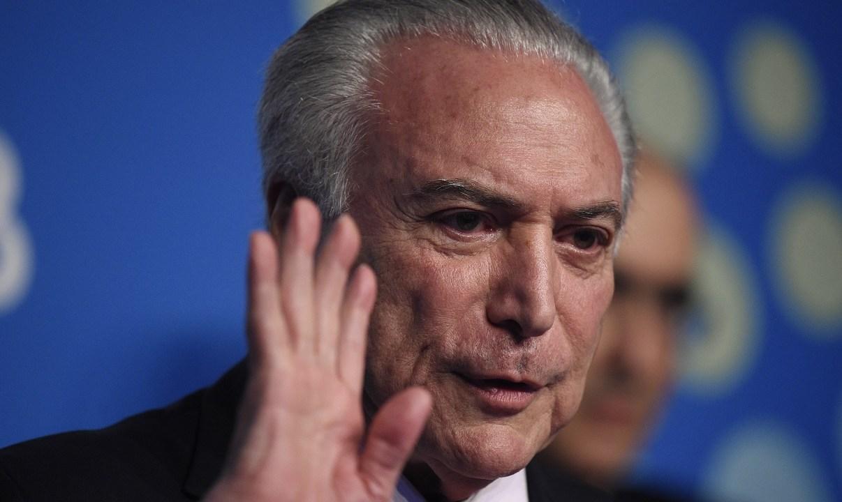Foto: Michel Temer, expresidente de Brasil. El 30 de noviembre de 2019