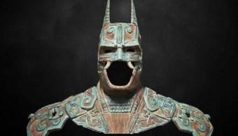 Foto: Busto de Batman durante la exposición en el Museo Mexicano del Diseño (Mumedi). En 2015