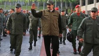 Foto: El presidente Nicolás Maduro participa en una ceremonia militar en Caracas, Venezuela. El 2 de mayo de 2019