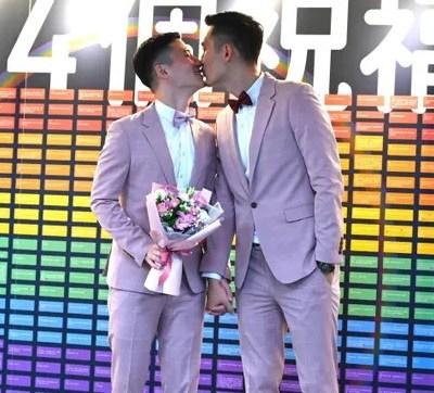 Taiwán registra primeras bodas gay en Asia