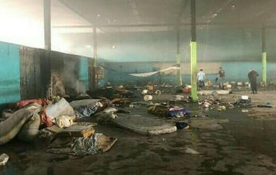 Foto: Un motín dejó varios reclusos muertos en una cárcel en Portuguesa, Venezuela. El 24 de mayo de 2019
