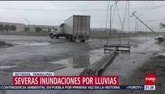 Foto: Fuertes Lluvias Severas Afectaciones Reynosa Tamaulipas 14 de Mayo 2019
