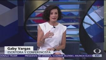 """Gaby Vargas y su libro """"Energía Tu Poder"""""""