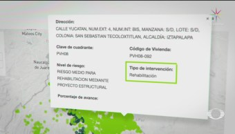 Foto: Gobierno Cdmx Portal Inmuebles Dañados Sismo 20 Mayo 2019