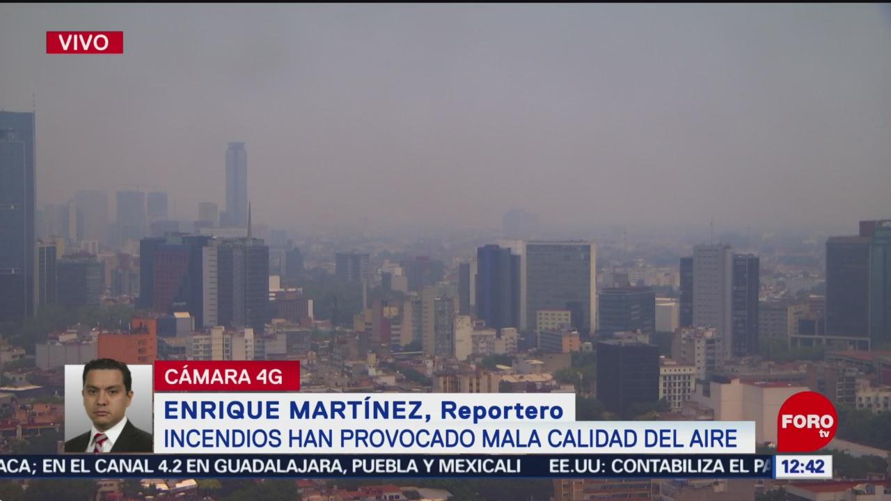 Gobierno CDMX justifica alerta ambiental, en lugar de contingencia