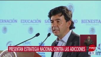 Gobierno de México presenta la estrategia nacional para prevenir las adicciones en jóvenes