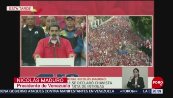 FOTO: Haremos respetar las leyes: Maduro, 1 MAYO 2019