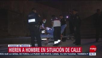 Hombre resulta herido durante riña en Monumento a la Revolución, CDMX