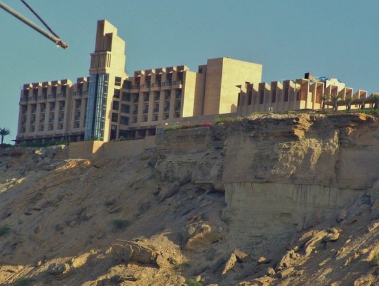 Foto: Vista general del hotel Pearl Continental (PC) en Gwadar, Pakistán, 11 de mayo de 2019 (Reuters)