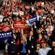 Foto: Seguidores de Donald Trump en mitin, 27 de abril de 2019,