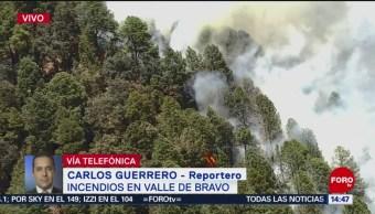 FOTO: Incendios de Valle de Bravo, desde el aire
