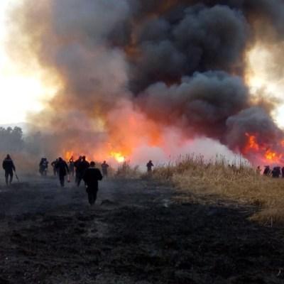 Incendios dejan olor a humo este fin de semana en CDMX