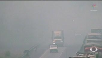 Foto: Incendios Origen Partículas Suspendidas Valle De México 14 de Mayo 2019