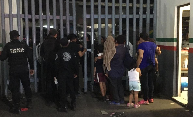 Foto de la estación migratoria en Chiapas, 12 mayo 2019