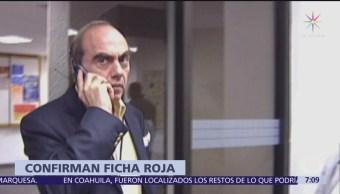 Interpol ya emitió ficha roja por Mario Marín y Kamel Nacif