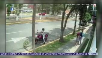 Joven se defiende de mujer que intentó asaltarlo en Tlalnepantla, Edomex