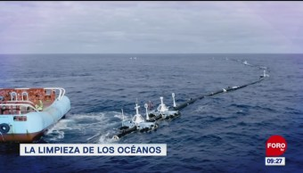 La limpieza de los océanos