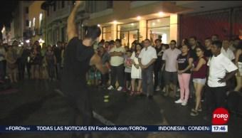 FOTO: La Noche Blanca en Mérida, una propuesta cultural