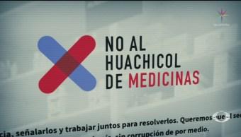 Foto: Plataforma Evidenciar Desabasto Robo Medicina VIH 7 de Mayo 2019