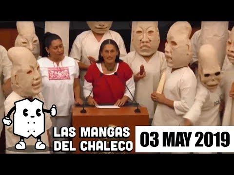 FOTO: Las Mangas del Chaleco con el show de Jesusa Rodríguez para defender el maíz, el plantón a AMLO y Morena no quiere más cervezas frías.