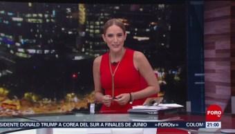 Foto: Las Noticias Danielle Dithurbide Forotv 15 de Mayo 2019