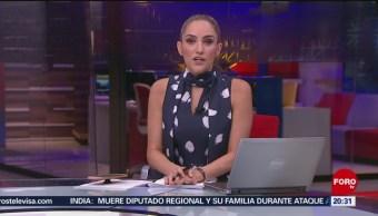 Foto: Las Noticias Danielle Dithurbide Forotv 21 Mayo 2019