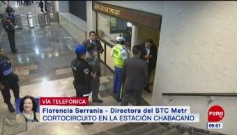 Lesionados por cortocircuito en Metro están estables: Florencia Serranía