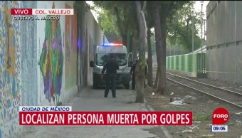 Localizan a persona sin vida en la alcaldía Gustavo A. Madero, CDMX