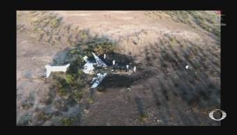 Foto: Localizan Avión Accidentado en Coahuila 6 de Mayo 2019