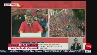 FOTO: Maduro pide a la gente que se lance a las calles para hacer justicia, 1 MAYO 2019