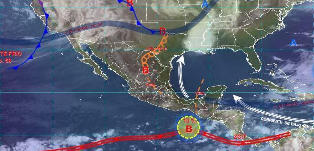 Foto: Imagen de fenómenos meteorológicos significativos de las 06:00 horas, 19 mayo 2019